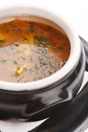 fish soup in the pot Stock Photo - 8383661