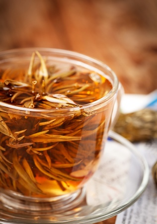 cup of green tea Stock Photo - 8459347