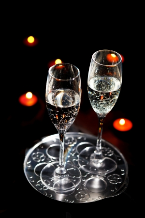 flutes of champagne Stock Photo - 8521957