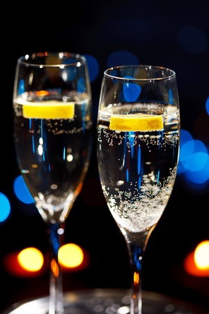 flutes of champagne Stock Photo - 8522102