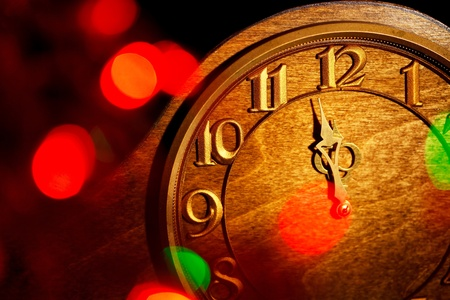 christmas tide: five minutes to New Year