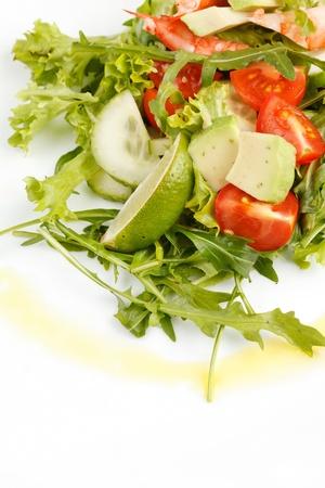 Prawn salad Stock Photo - 8870333