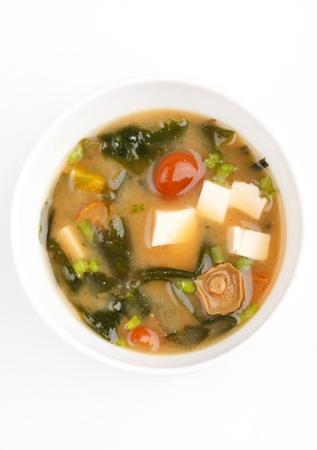 Miso soup photo
