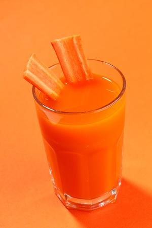 fresh carrot juice photo