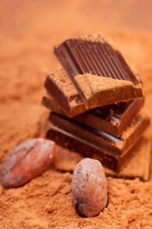 Chocolate and cocoa photo