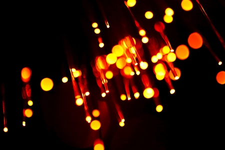 fiber optic abstract background  photo