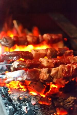 shish: grilling lamb