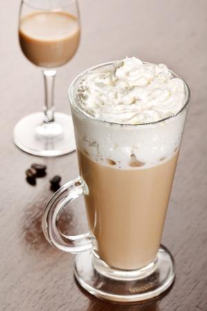 coffee with cream liqueur Stock Photo - 9285134