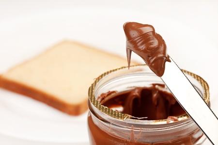 sugar paste: chocolate cream