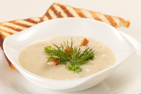 mushroom soup Stock Photo - 9472420