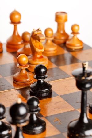 chellange: wooden chess
