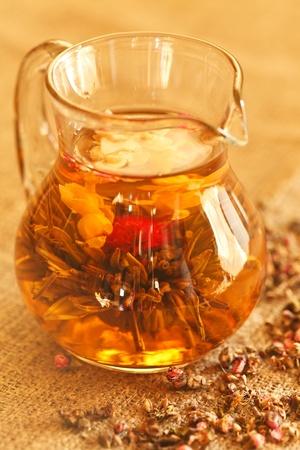 green tea Stock Photo - 9472483