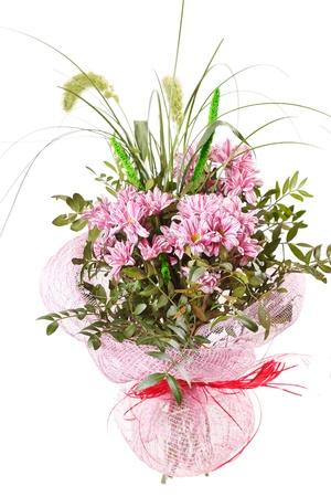 Beautiful bouquet of chrysanthemum  photo