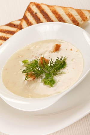 mushroom soup Stock Photo - 9561946