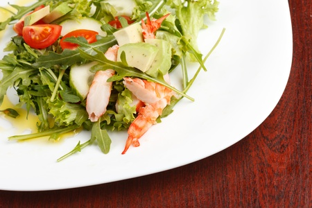 Prawn salad Stock Photo - 9670123