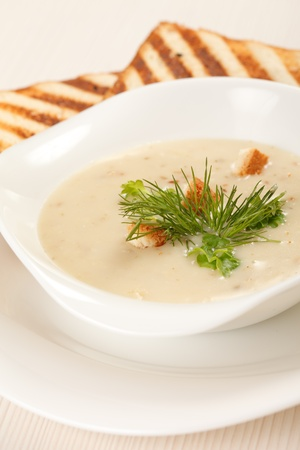 mushroom soup Stock Photo - 9669742