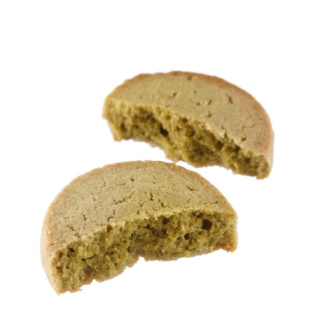 spicecake: tasty cookie with green tea Stock Photo