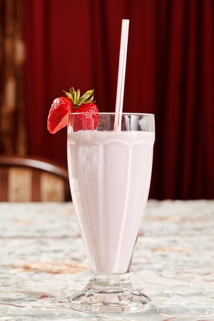strawberry smoothie  photo