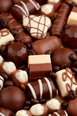 chocolate truffle: chocolate sweets