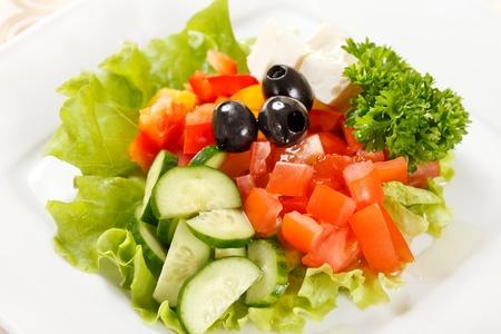 rocket lettuce: vegetable salad