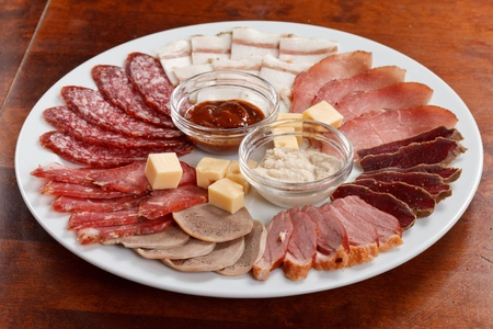 appetizer from meat Stock Photo - 10231525