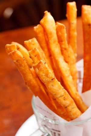 breadstick: crunchy breadsticks  Stock Photo