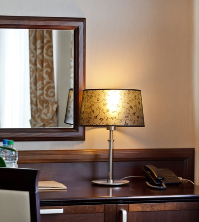old fashion table lamp  Stock Photo - 10351491