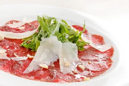Carpaccio di carne con Parmigiano