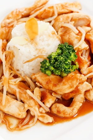 rice with meat Stock Photo - 10441562