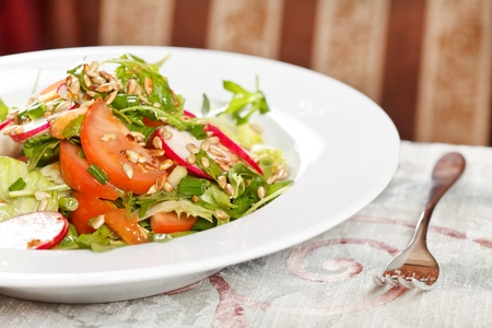 healthy vegetables salad  photo