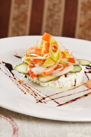 salad with cottage cheese  Stock Photo - 10460567