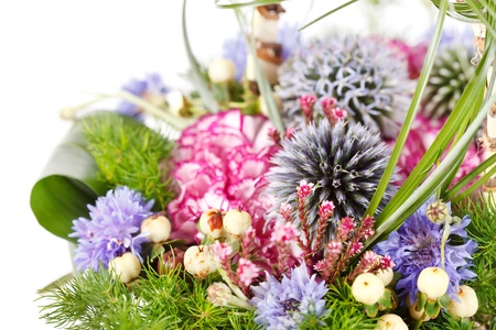 bouquet of colorful flowers  Stock Photo - 10539901