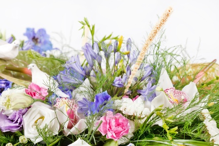 bouquet of colorful flowers  Stock Photo - 10585224