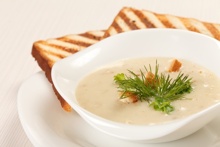 mushroom soup Stock Photo - 10602071