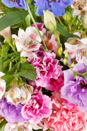 bouquet of colorful flowers Stock Photo - 10621842