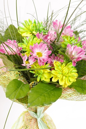 bouquet of colorful flowers Stock Photo - 10621844