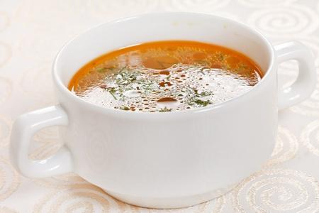 Fresh vegetable soup Stock Photo - 10683037