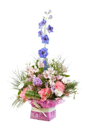 bouquet of colorful flowers Stock Photo - 10691264