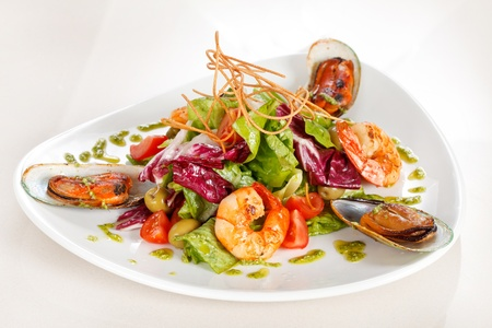 sea food: Seafood Salad