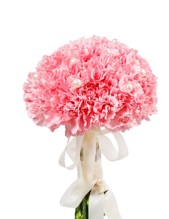carnations: Bridal Bouquet