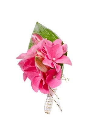 buttonhole: posy bouquet