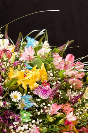 bouquet of colorful flowers Stock Photo - 10848070