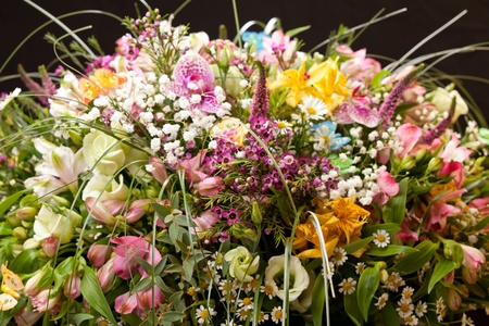bouquet of colorful flowers Stock Photo - 10848072