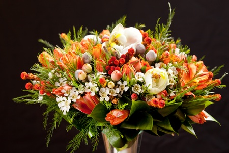 bouquet of colorful flowers Stock Photo - 11134827