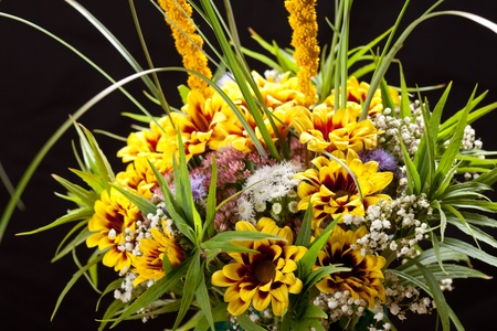 bouquet of colorful flowers Stock Photo - 11134828