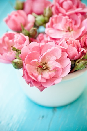flower vase: nice flowers Stock Photo