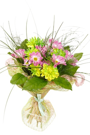 bouquet of colorful flowers Stock Photo - 11135418