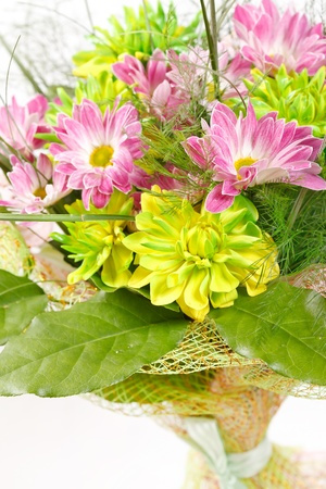 bouquet of colorful flowers Stock Photo - 11301695