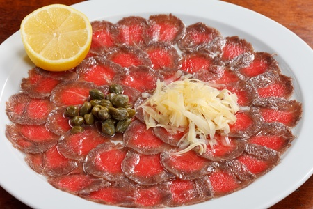 Meat Carpaccio photo