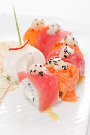 makki: tasty sushi Stock Photo